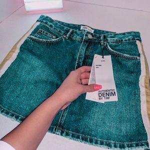 NWT ZARA Jean skirt